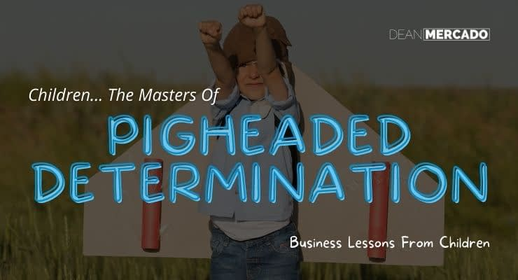 Pigheaded Determination