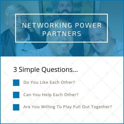 Networking Power Partners Questions